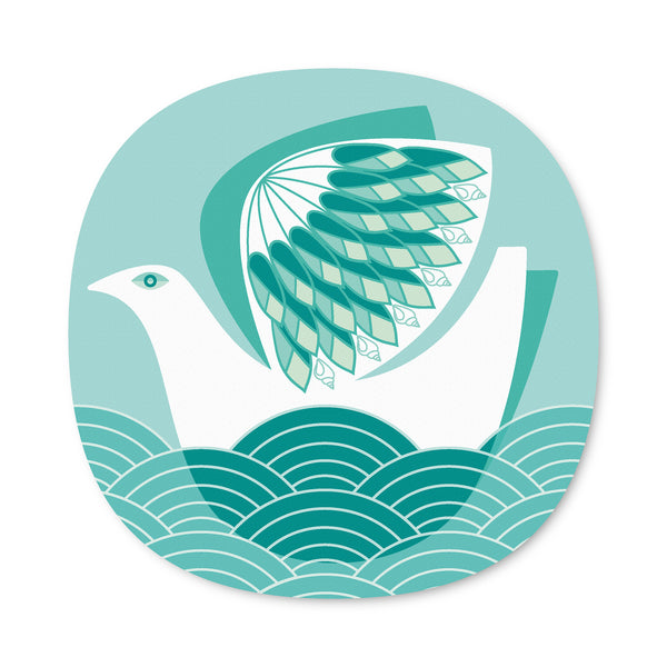 Seabird design placemat