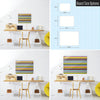 Stripes Design Magnetic Board Size Options