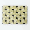 Utensils Light Olive repeat pattern magnetic notice board