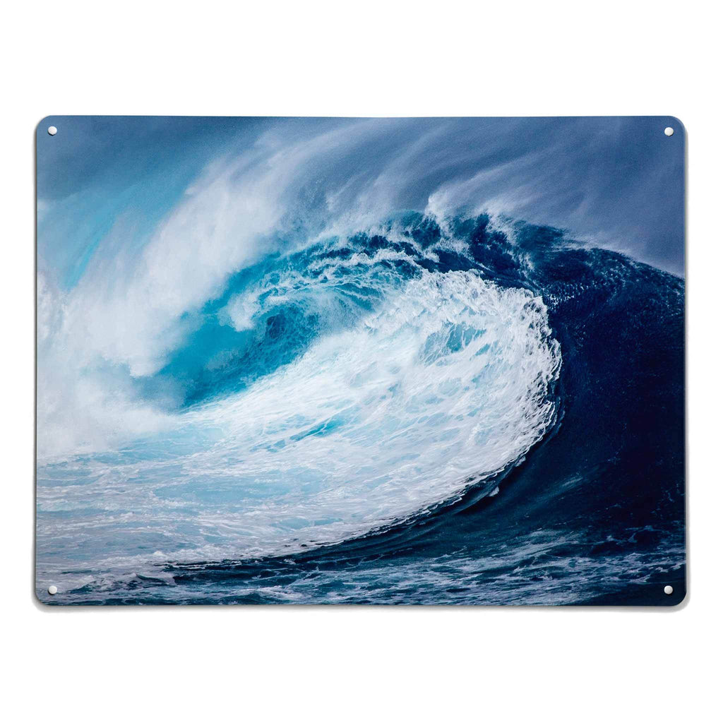 Wave - Large Magnetic Notice Board / Wall Art