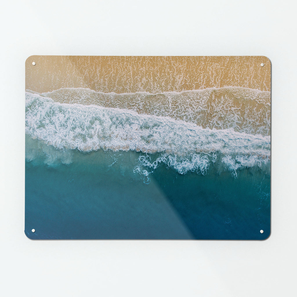 Waves on the Shore magnetic notice board