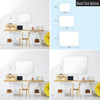 Plain White Magnetic Board Size Options