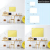 Plain Yellow Magnetic Board Size Options