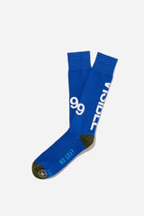 3M Reflective Ink Printing Sock | Blue