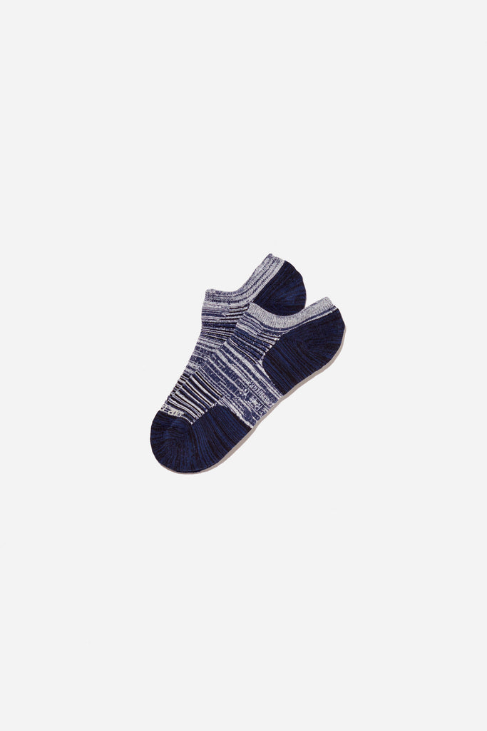 Mesh Paneling Sock | Navy | Mr. Gray