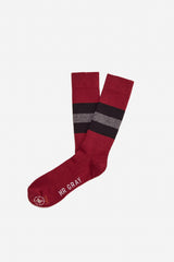 Bee Keeper Sock | Burgundy
