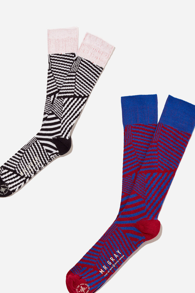 Dazzle Camo Print Sock bundle