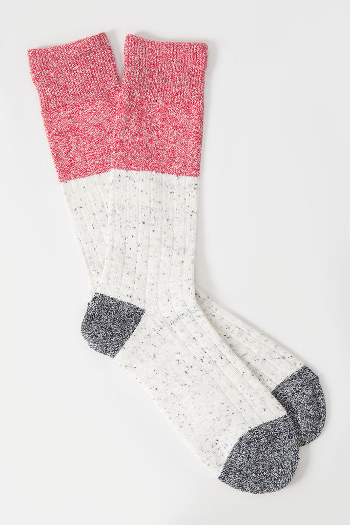 Denim Chip Colour Block Sock