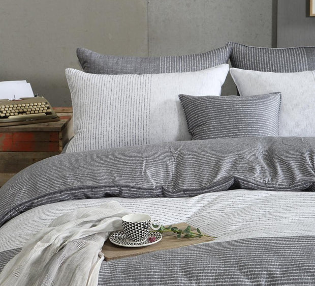 All Season Duvet Set - King 4 pcs. - Milian - Gray