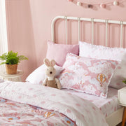 Kids - Hypoallergenic Comforter Set - Twin 2 pcs. - Unicorn - Pink
