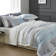 Great - Summer Comforter Set - Queen 3 pcs. - Blue