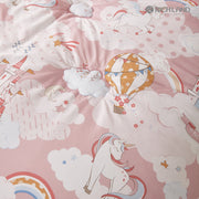 Twin 2 pcs. - Unicorn - Pink