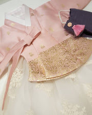 Dusty Pink and Lace - 3 Pieces - for Joy Lee