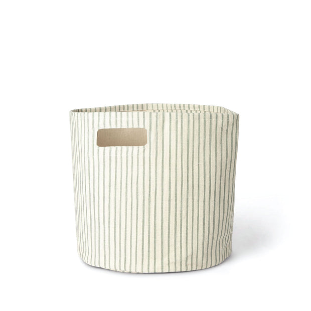 Storage - Stripe Bin - Gray