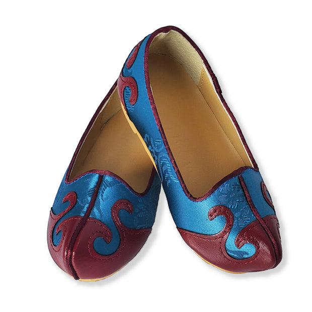 Shoes - Dol Hanbok Shoes (고무신) for Boys - Electric Blue