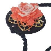 Hanbok Hair Accessory - Traditional Style - Dahlia