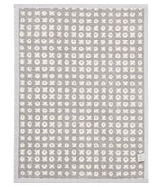 Infant Toddler - XOXO - Baby Crib Blanket - Gray Ivory