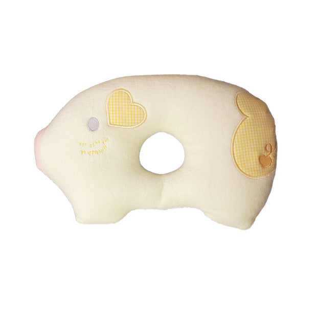 Crib Infant - Pillow - Piggy - Yellow