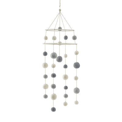 Mobile - Two-Tiered - Dream A Little Dream Pebble - Gray