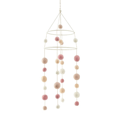 Mobile - Two-Tiered - Dream A Little Dream Petal - Pink