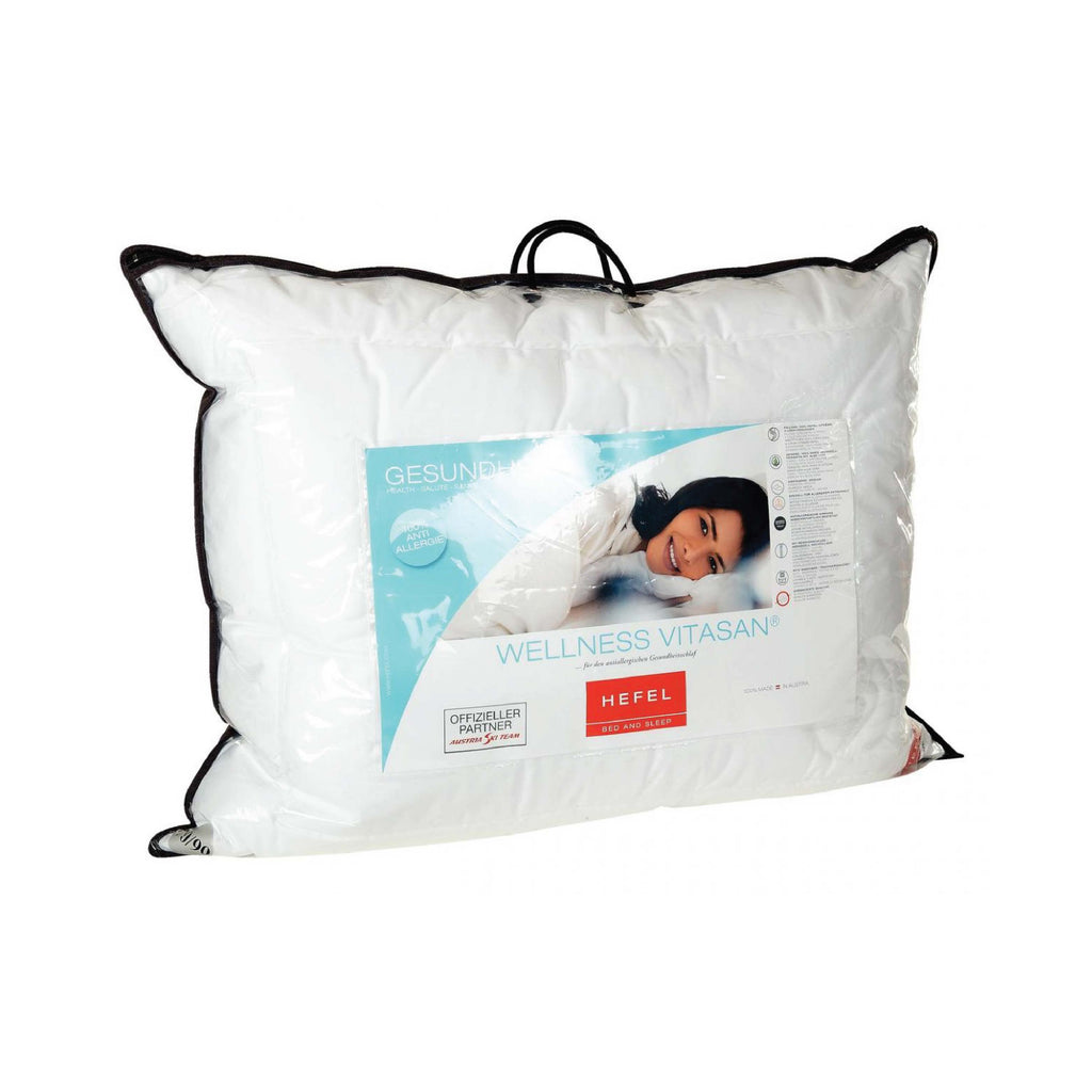 Hypoallergenic Pillow - Wellness Vitasan by Hefel