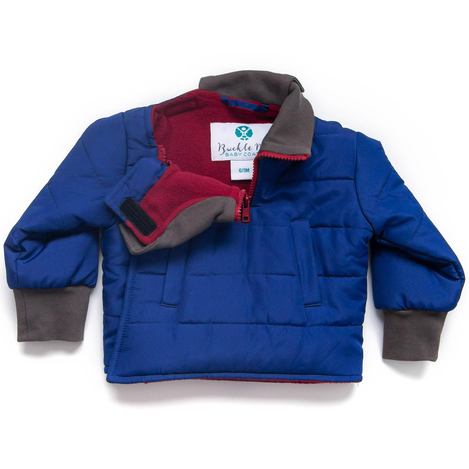 Toastier Car Seat Coats by Buckle Me Baby Coats - 5 Cosmic Chill