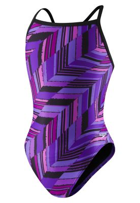 Speedo Angles Flyback - Purple