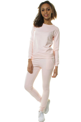 Pink Classic Tracksuit Set