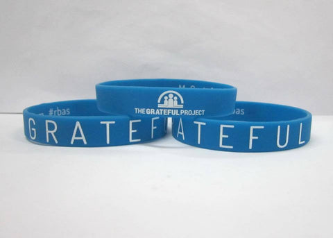 Grateful Project - 10 Blue Bracelet Pack