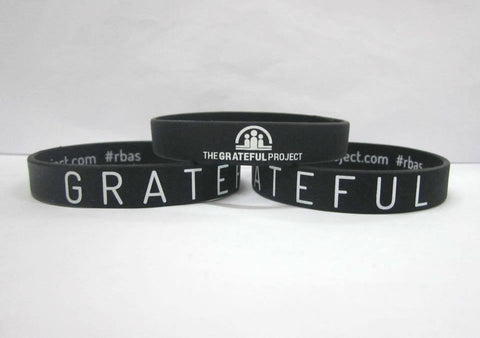 Grateful Project - 5 Black Bracelet Pack