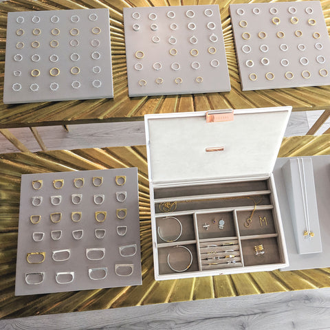 stackers jewellery box collection silver gold mixed metals Maya Magal London