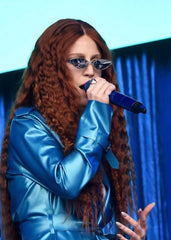 Jess Glynne wearing Maya Magal