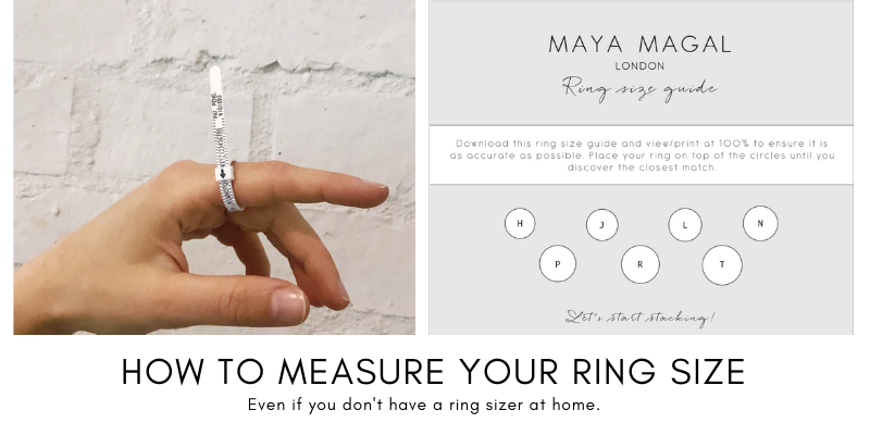 How to measure your ring size at home?