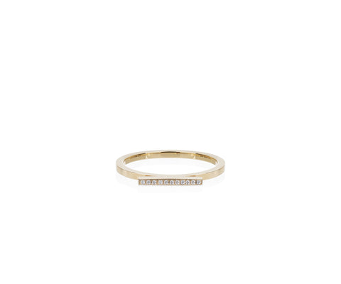 solid gold ring diamonds Maya magal London
