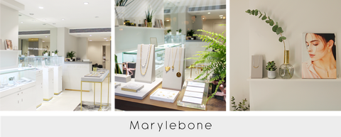 Inside our Marylebone Jewellery Store