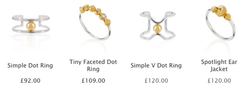 Dot ring collection