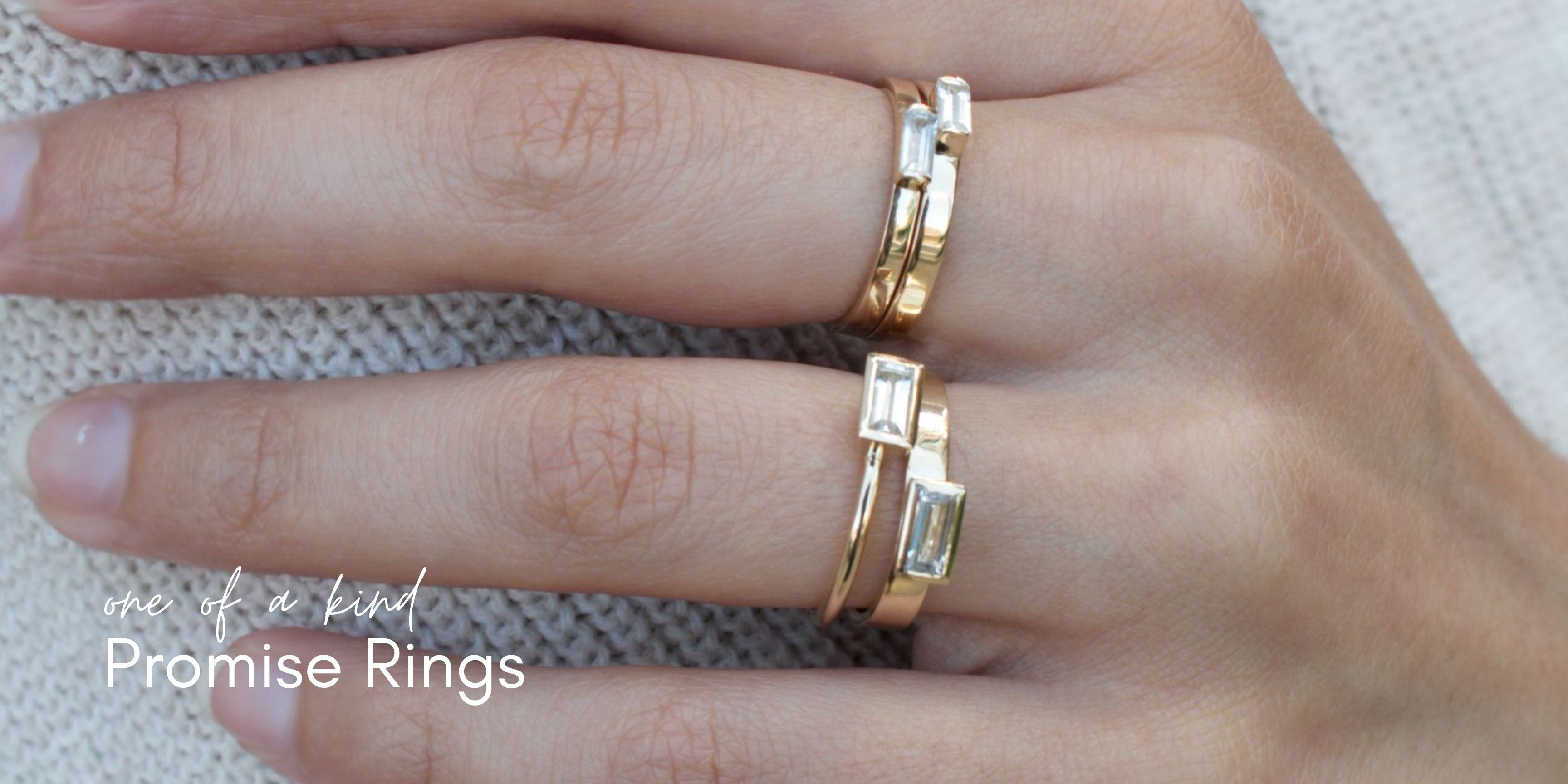 one-off promise rings by maya magal jewellery london uk