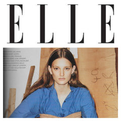 Maya Magal Circle Cuff Earring featured in Elle Magazine.