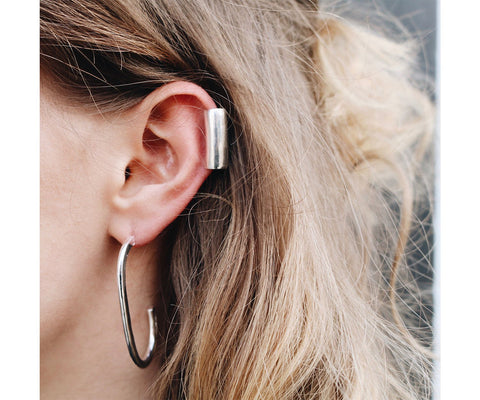 Ear cuff silver accessory gift ideas Christmas Maya Magal Jewellery London