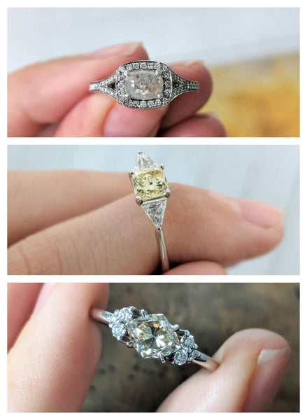 One-Off Engagement Rings - Solid Gold Collection