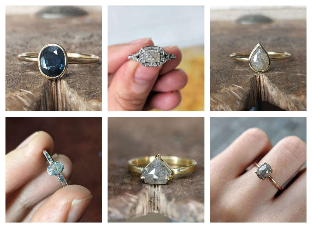 handmade solid gold rings