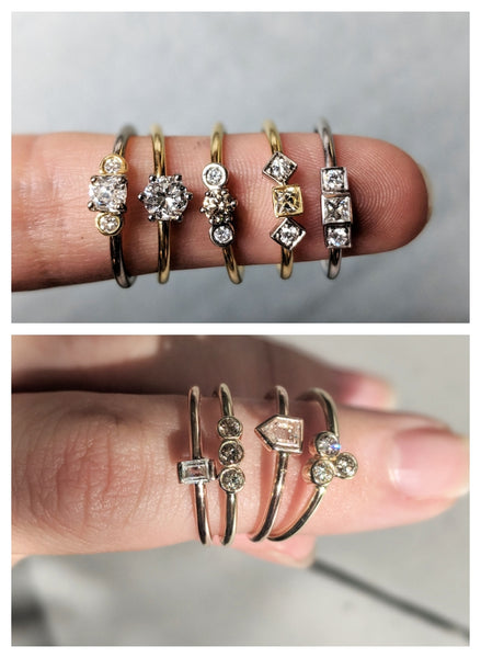 One-Off Promise Rings