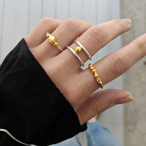 The dot ring collection