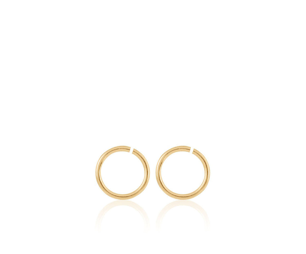 charm hoop earrings for birthstone charms maya magal