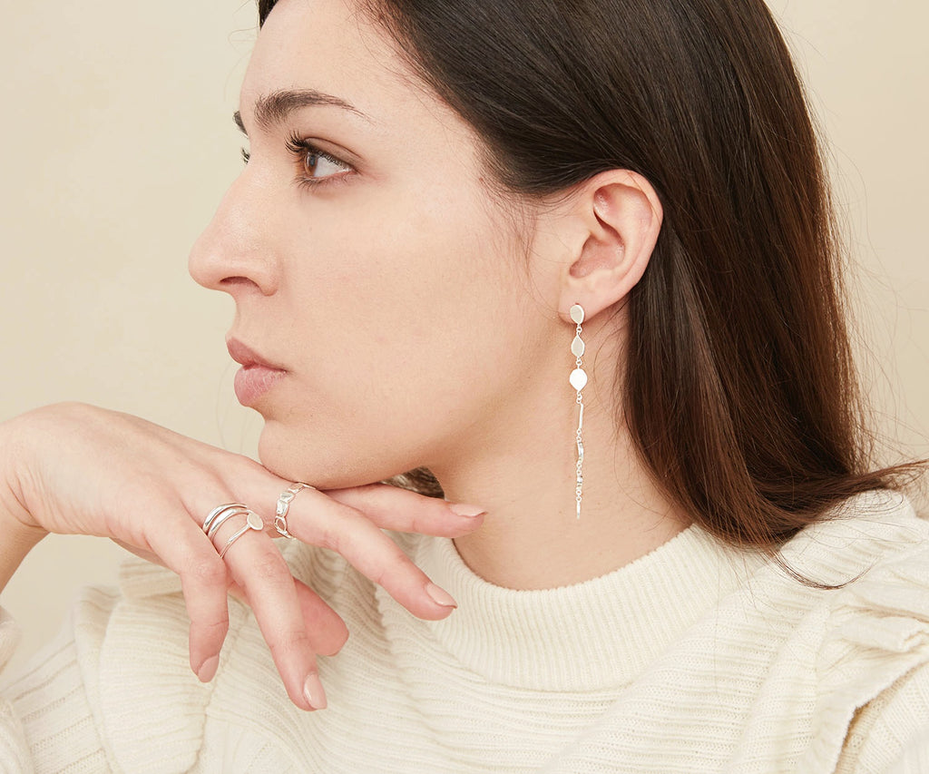Puddle Drop Earrings