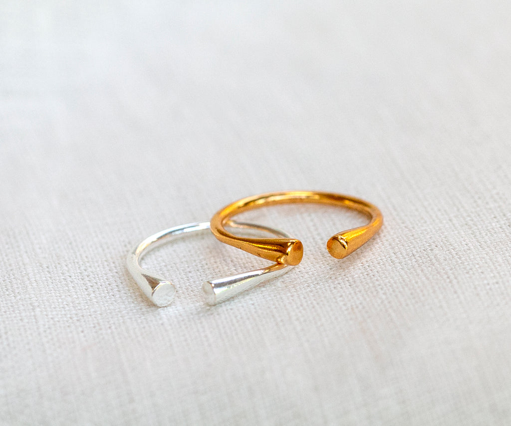 Open Ended Stacking Ring