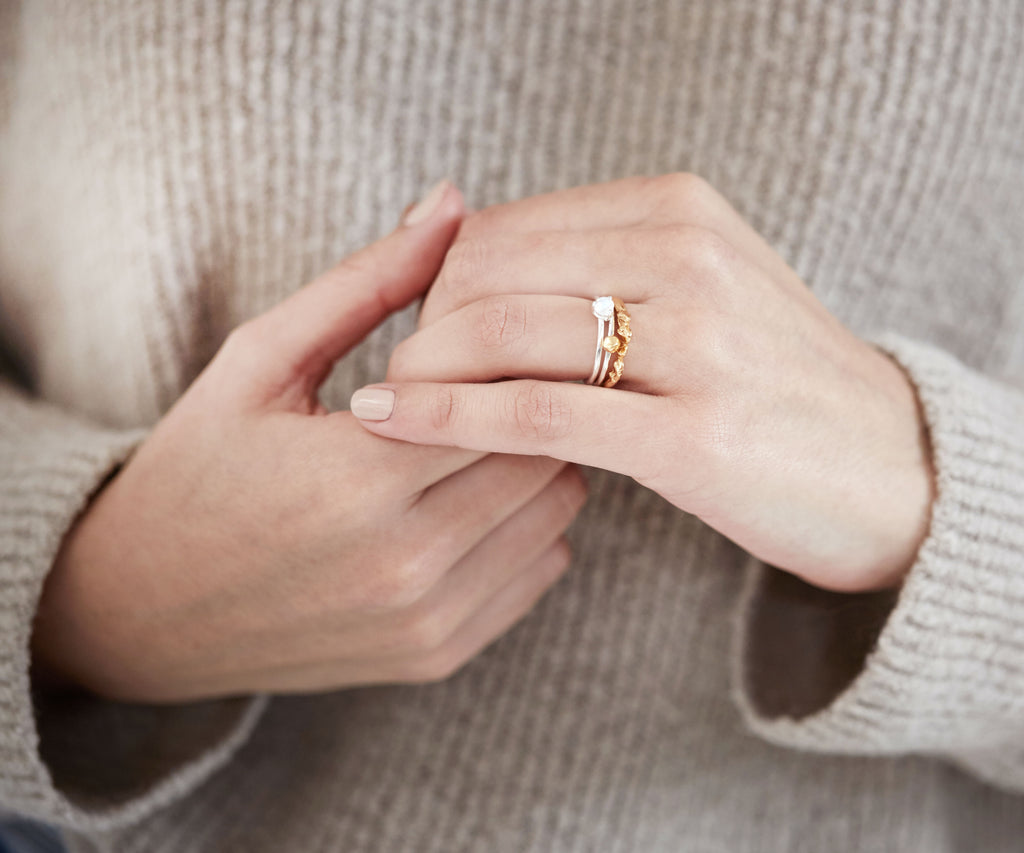 Leanne Stacking Ring Set - Anthropologie Collection