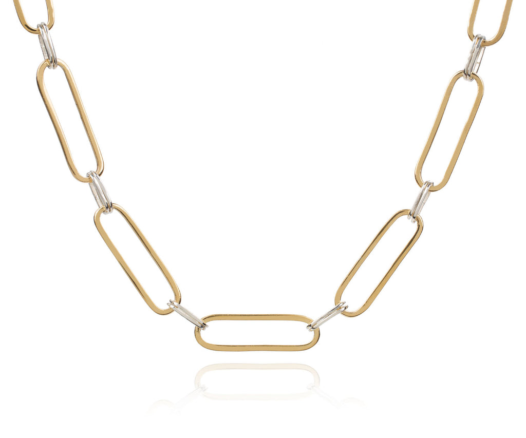 Loose link choker necklace maya magal the outnet luxury brand uk london jewellery