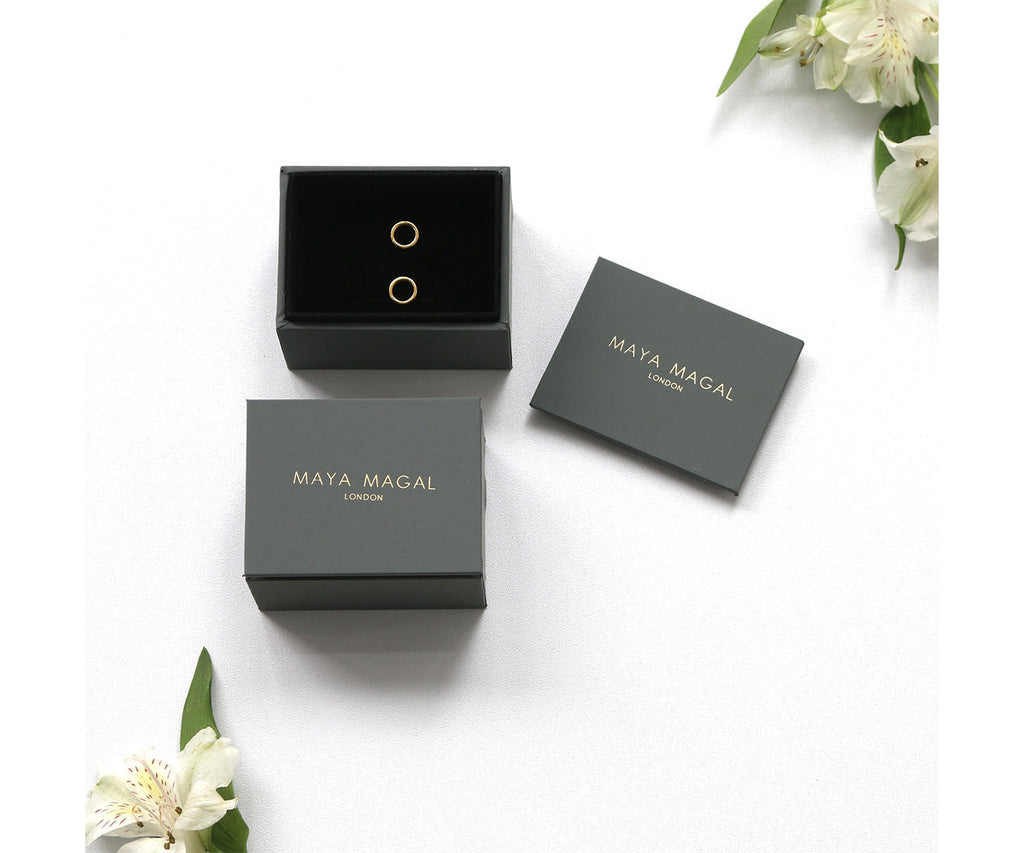Maya Magal London jewellery packaging