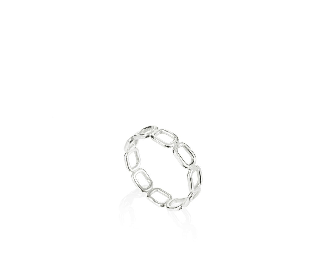 Mini Chain Link Stacking Ring